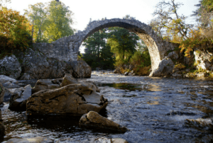 Carrbridge, by Fergus Thom
